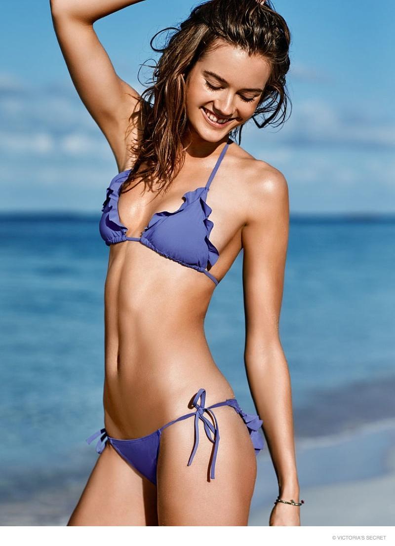Monika Jagaciak w najnowszej kampanii Victoria's Secret