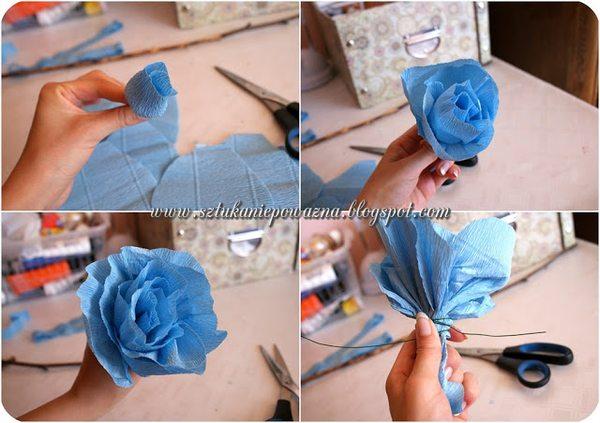 Zrób to sama: róża na Dzień Matki