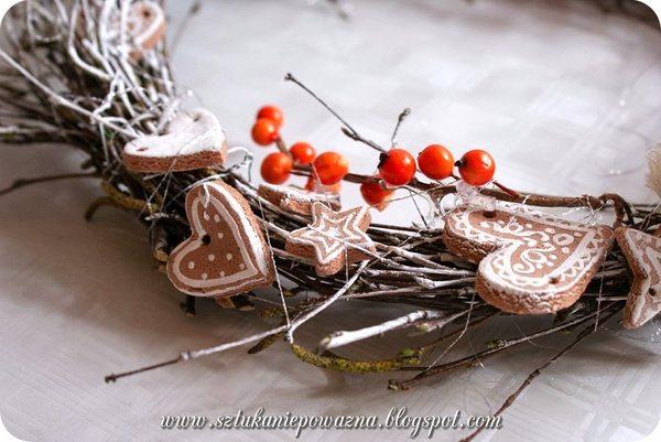Zrób to sama: świąteczny stroik