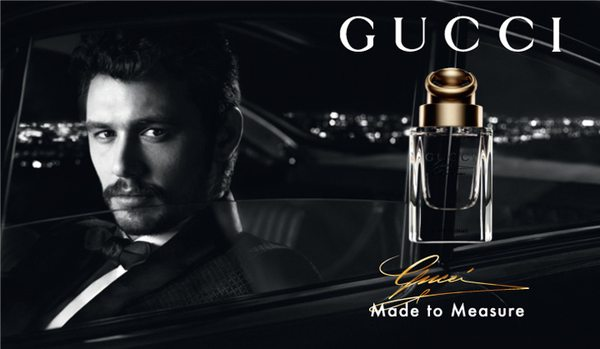 James Franco w kampanii Gucci