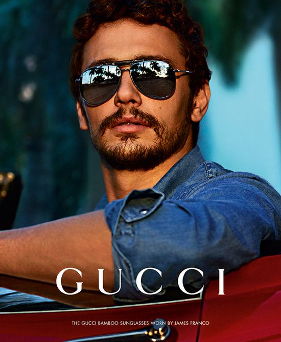 James Franco dla Gucci Eyewear (FOTO)