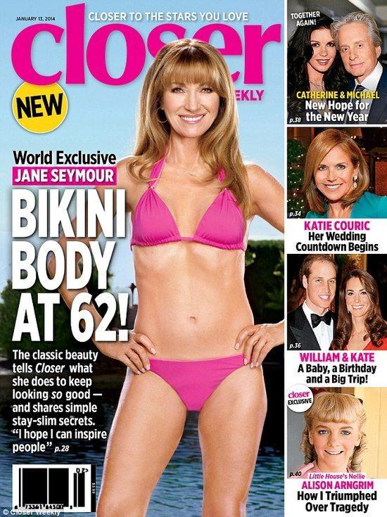 62-letnia Jane Seymour: czuję się lepiej niż 40 lat temu!