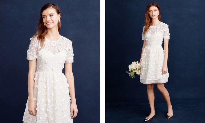 Niezwykle dziewczęca kolekcja sukien ślubnych od J. Crew