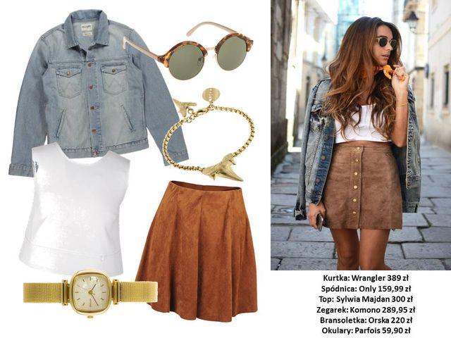 Modne kurtki dżinsowe - 4 stylizacje na wiosnę 2016