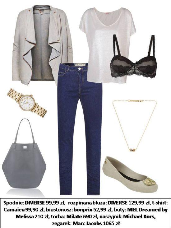 Dopasowane jeansy w roli gównej, czyli 3 modne zestawy