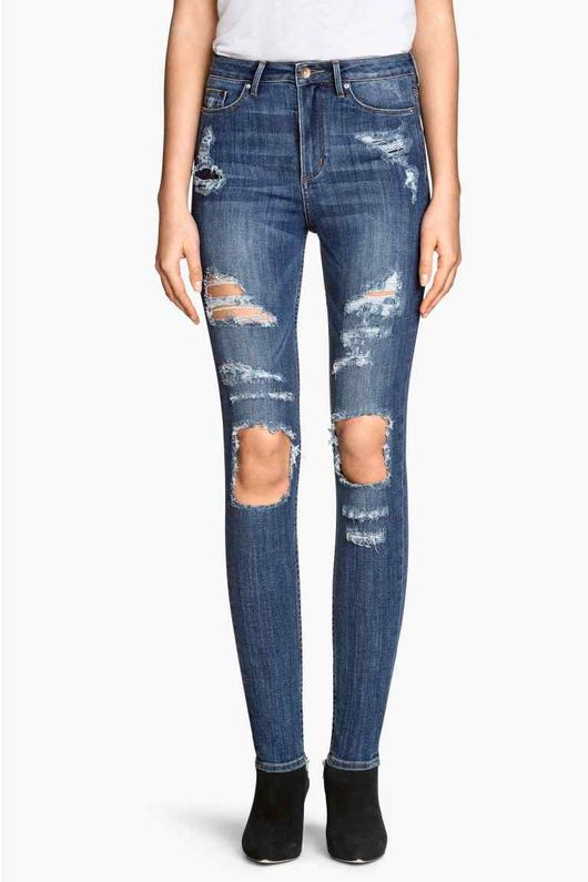 Bardzo dziurawe jeansy na wiosnę 2015 - przegląd (FOTO)