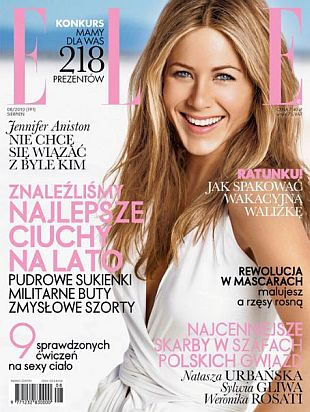 Dwie okładki z Jennifer Aniston