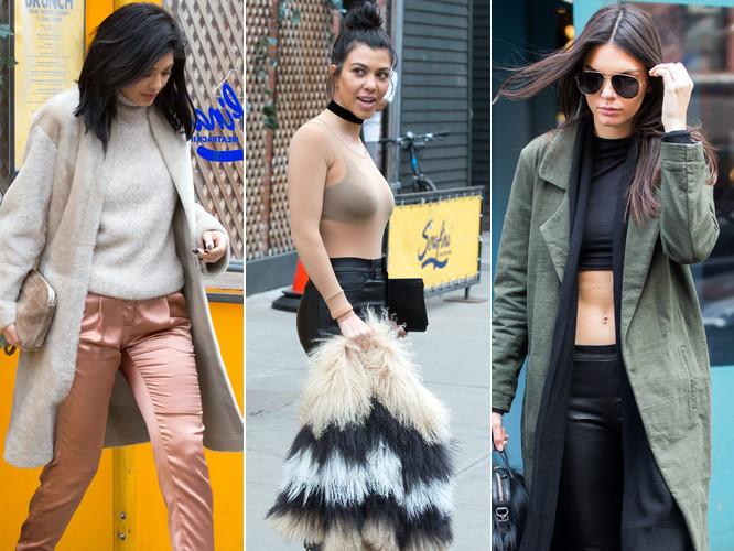 W takich stylizacjach siostry Kardashian-Jenner robią zakupy