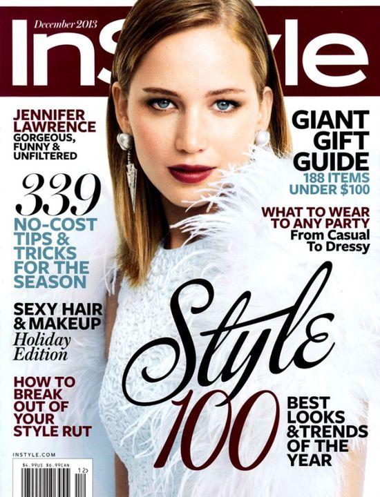 Jennifer Lawrence gwiazdą InStyle (FOTO)