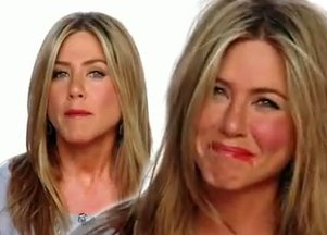 Koszmarna metamorfoza Jennifer Aniston (VIDEO)