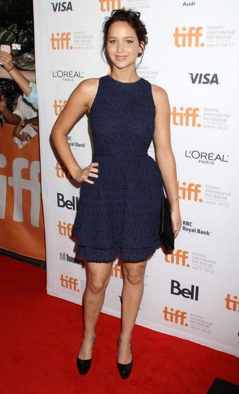 Jennifer Lawrence w sukience Diora (FOTO)