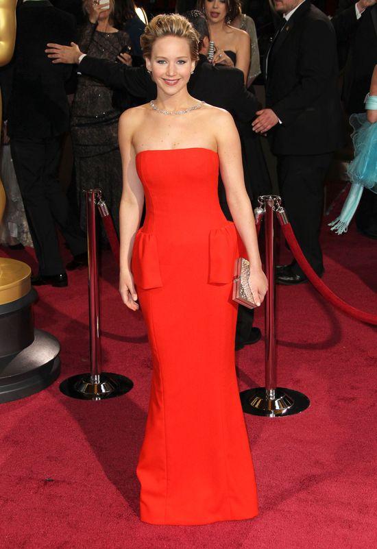 Co Jennifer Lawrence miała w  torebce na Oscarach 2014