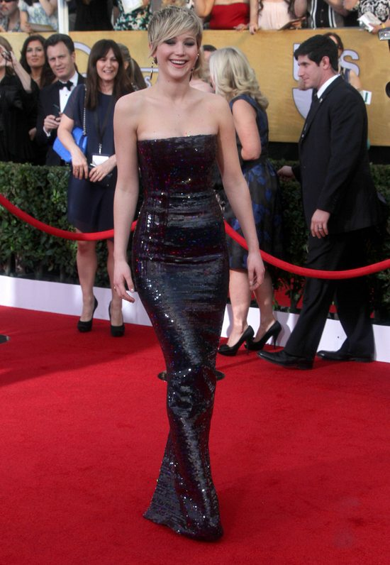 Jennifer Lawrence w sukni Christian Dior Couture (FOTO)