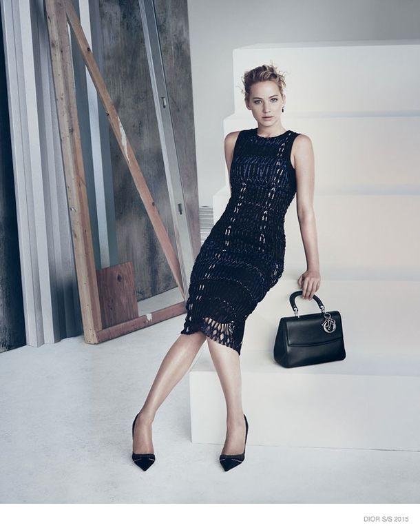 Jennifer Lawrence w najnowszej kampanii Diora (FOTO)