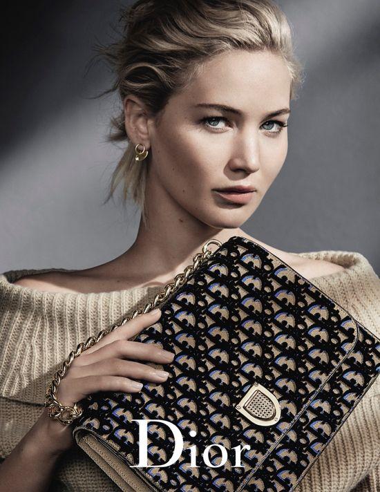 Jennifer Lawrence w jesienno-zimowej kampanii Diora - obyło się bez Photoshopa?