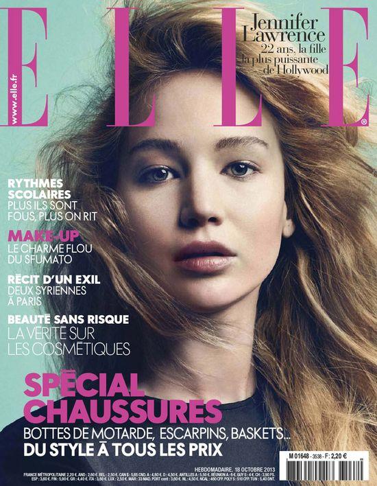 Jennifer Lawrence gwiazdą Elle France
