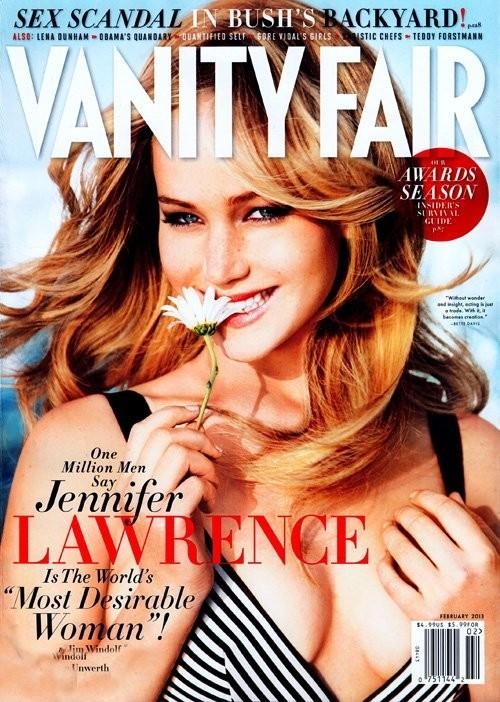 Jennifer Lawrence najbardziej pożądaną kobietą świata