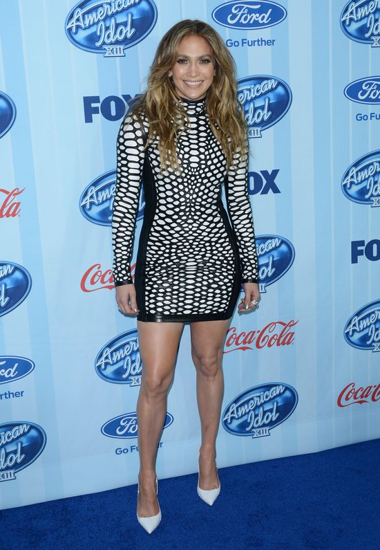 Jennifer Lopez w sukience Toma Forda (FOTO)