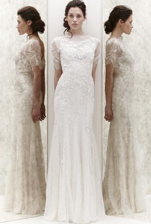Ślubna prostota według Jenny Packham