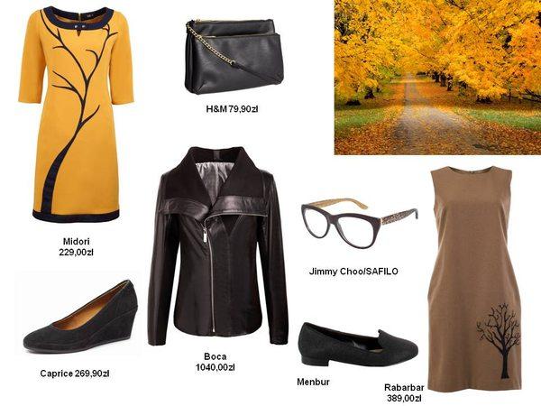 Zainspiruj się na jesień - propozycje zestawów