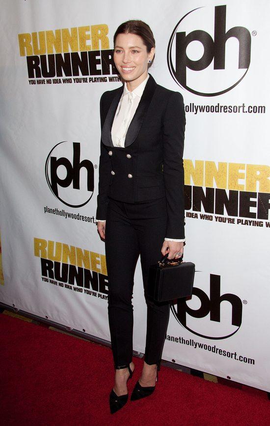 Jessica Biel w Dolce&Gabbana