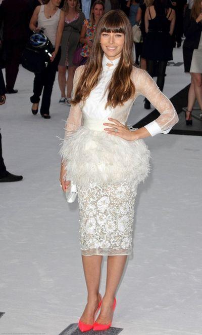 Pierwsze zdjęcie sukni ślubnej Jessici Biel!