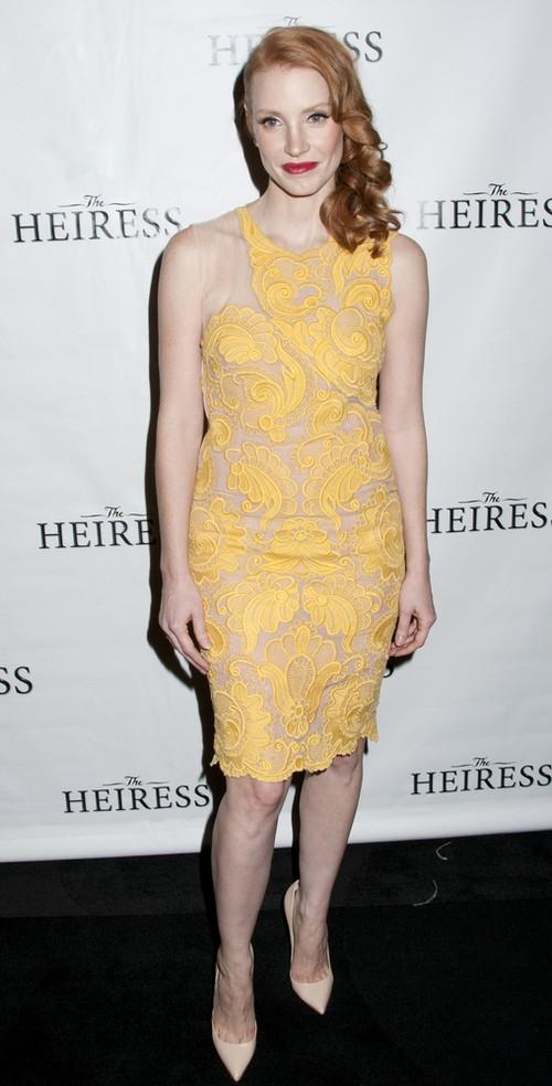 Jessica Chastain w sukience Stelli McCartney (FOTO)