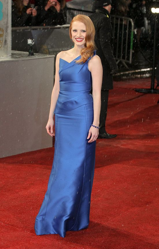 Jessica Chastain w Roland Mouret (FOTO)