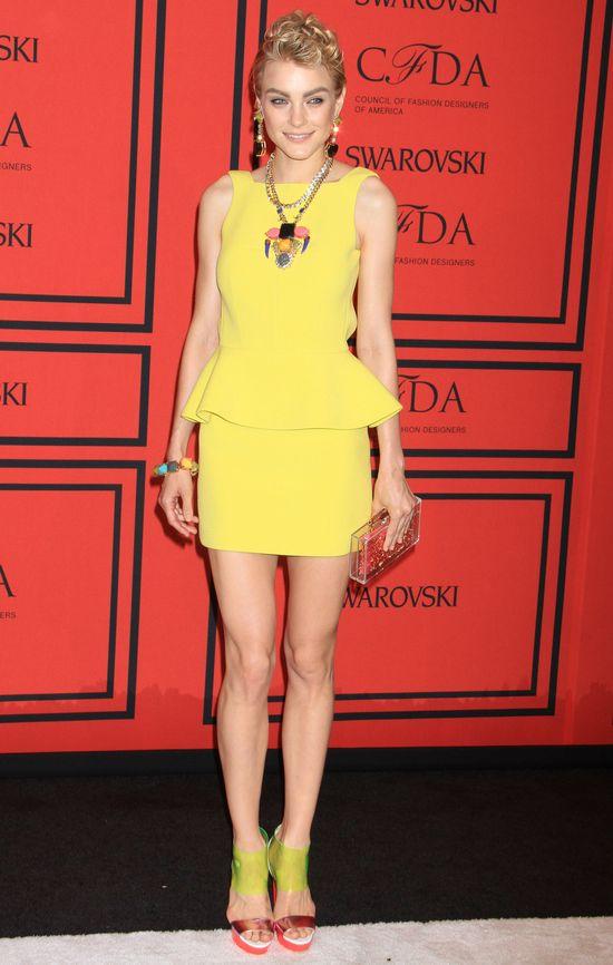 Modelki na gali CFDA Fashion Awards 2013