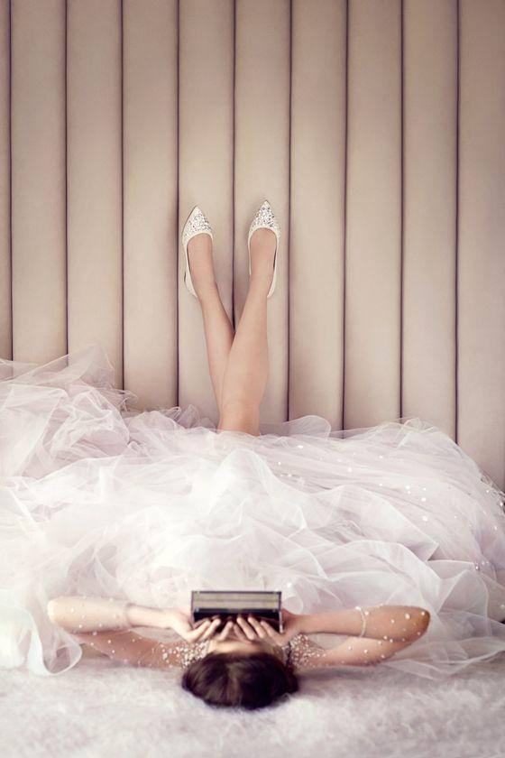 Ślubne buty od Jimmy'ego Choo - wielkie WOW (FOTO)