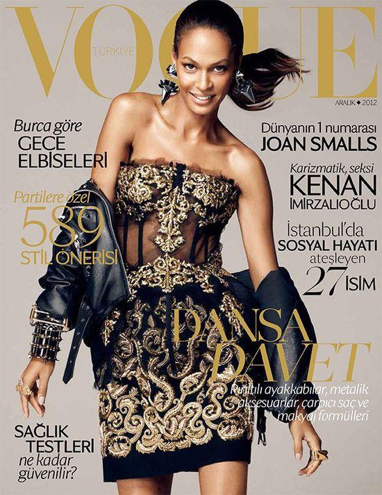 Joan Smalls w Dolce&Gabbana