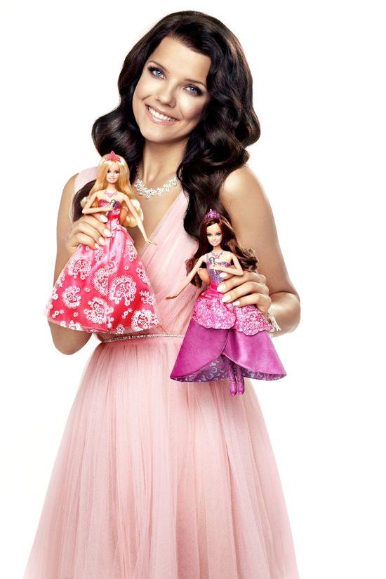 Joanna Jabłczyńska reklamuje lalki Barbie (FOTO+VIDEO)