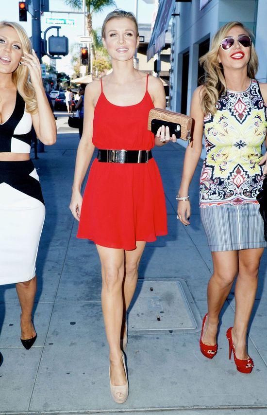 Joanna Krupa z przyjaciółkami