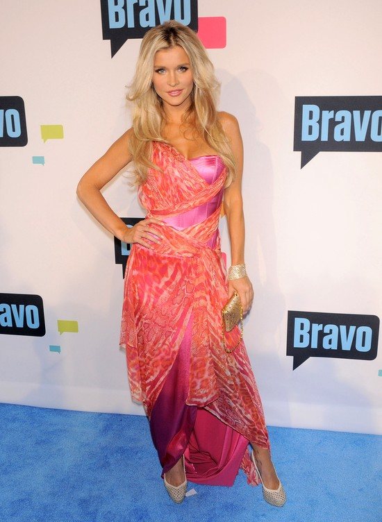 Joanna Krupa w kolorowej sukni  FL