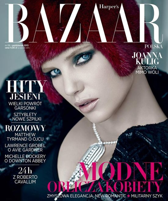 Joanna Kulig gwiazdą Harper's Bazaar