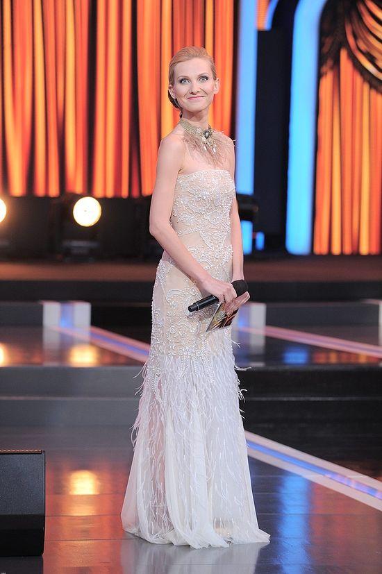 Joanna Moro w sukni projektu Natalii Jaroszewskiej (FOTO)