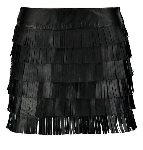 Spódnice z frędzlami - hit tego sezonu - przegląd sieciówek