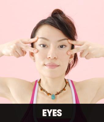 Tydzień z jogą twarzy. Dzień 5 - okolice oczu (VIDEO)