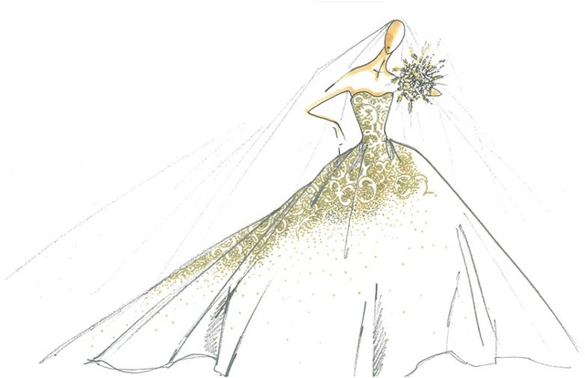 Jak Jessica Simpson stylizowała swoje druhny?