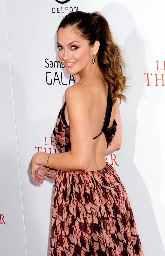 Minka Kelly w sukience z jesiennej kolekcji Sophie Theallet