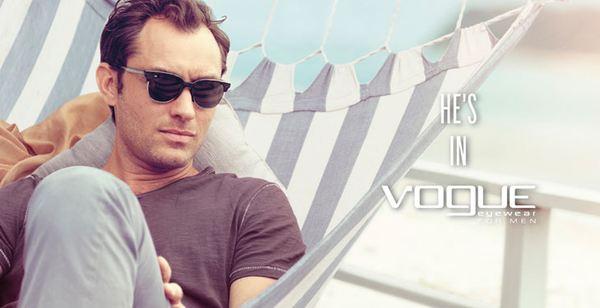 Jude Law w kampanii Vogue Eyewear