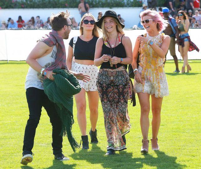 Festiwalowe stylizacje gwiazd - Coachella - dzień pierwszy