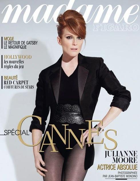 Julianne Moore na okładce Madame Figaro
