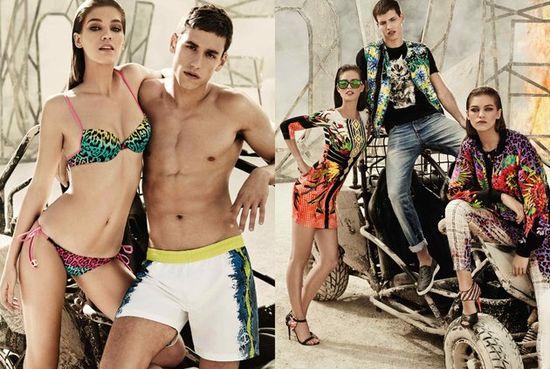 Just Cavalli - kampania wiosna-lato 2014 (FOTO)