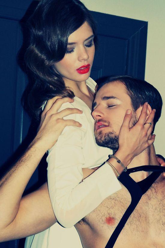 Olga Kaczyńska i Mateusz Jarzębiak w erotycznej kampanii