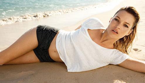 Kate Moss dla TopShop po raz kolejny