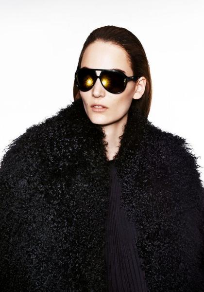 Zuzana Bijoch w kampanii marki Simple jesień-zima 2013/14