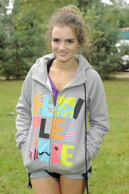Marysia Niklińska w sportowym stylu (FOTO)