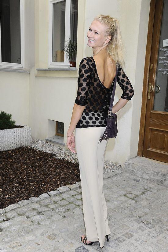 Ania Piszczałka w bluzce z Zary (FOTO)
