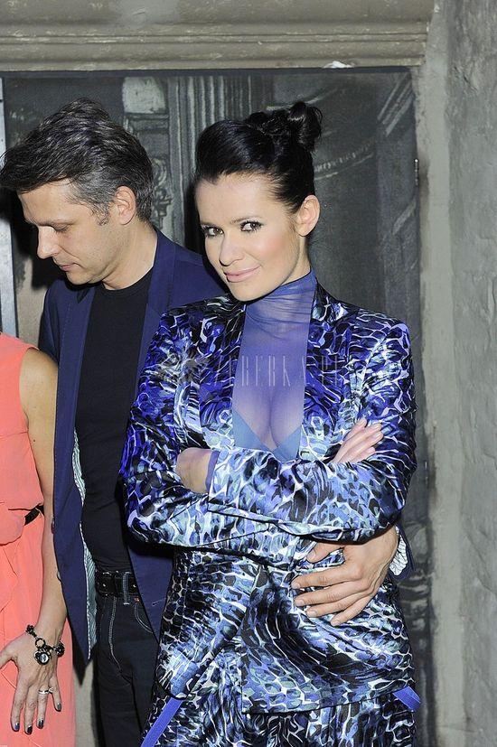Anna Oberc w garniturze (FOTO)